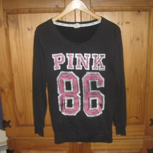 PINK Pullover Scoop Sweater Shirt